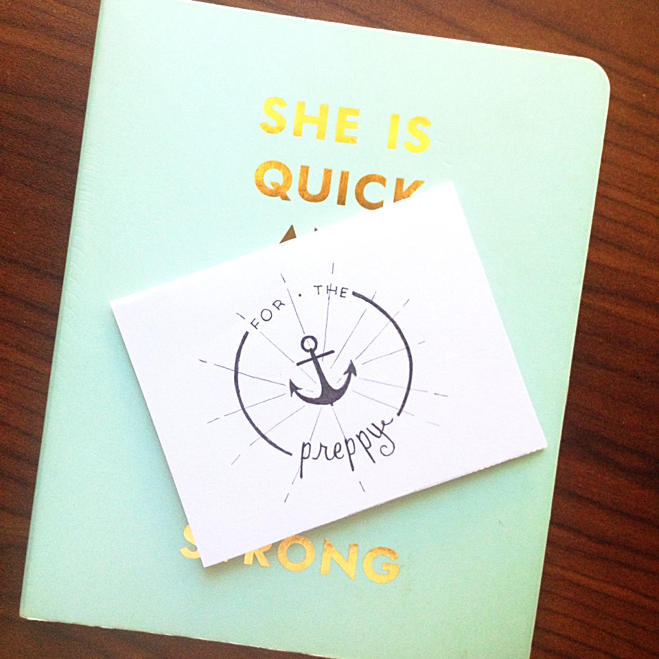 For The Preppy Handmade Homemade Cute Funny Greeting Cards