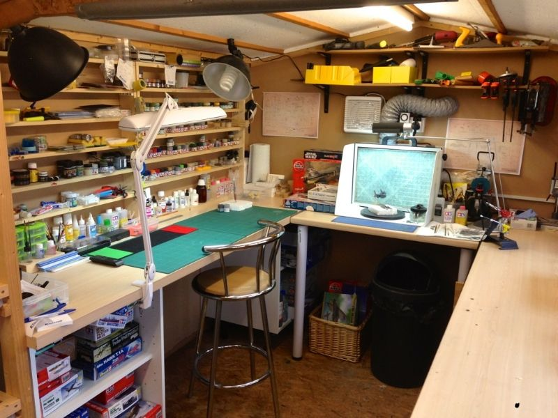 Hobby Bench Model Workbenches Hobby Desk Workshop