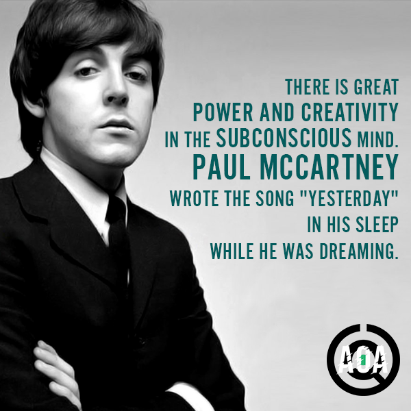 Words of a Legend #AOA #AstronautsofAntiquity #Paradise #Legend #PaulMccartney
