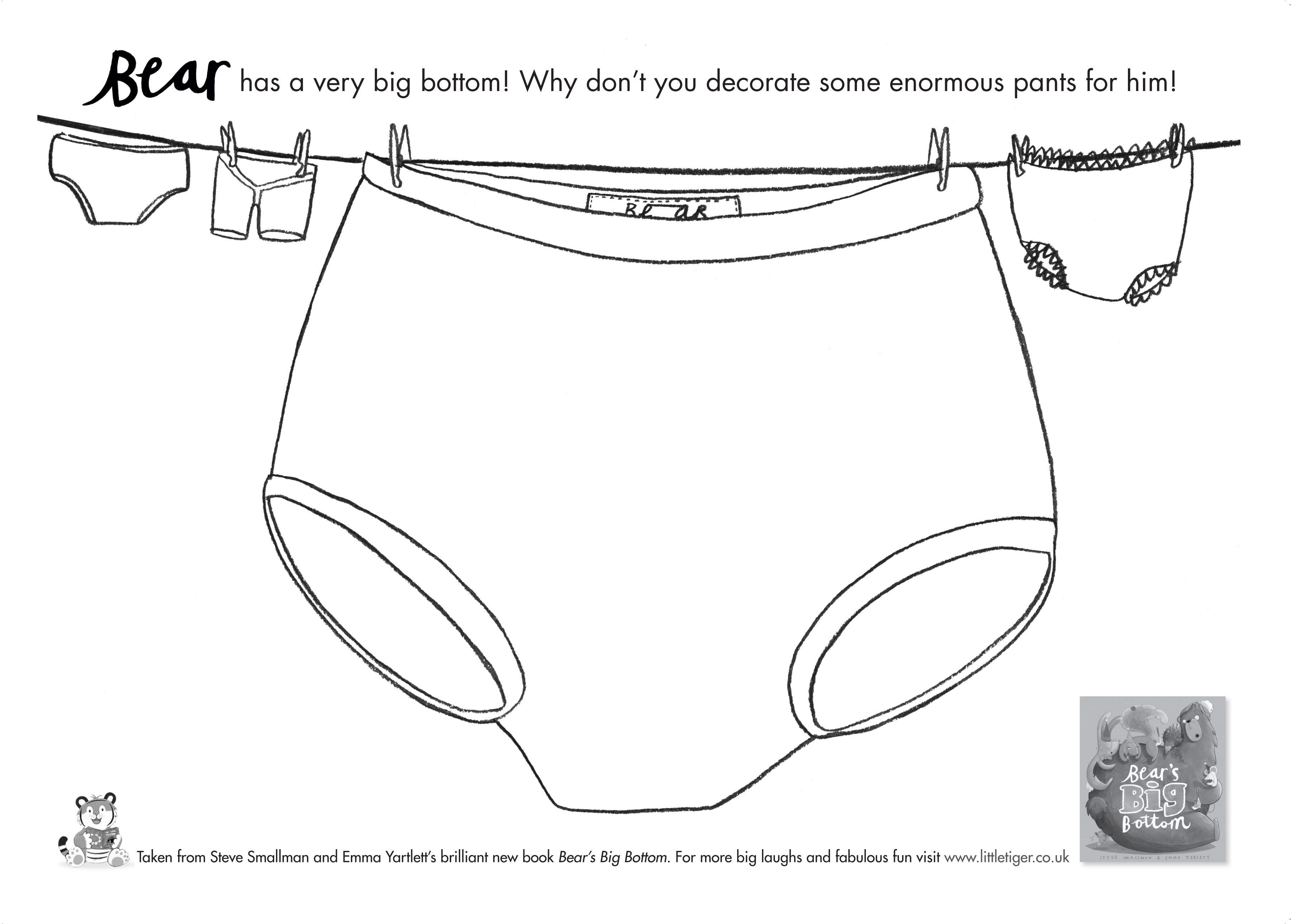 Bear S Big Bottom Design Your Own Bear Pants Things To Do In