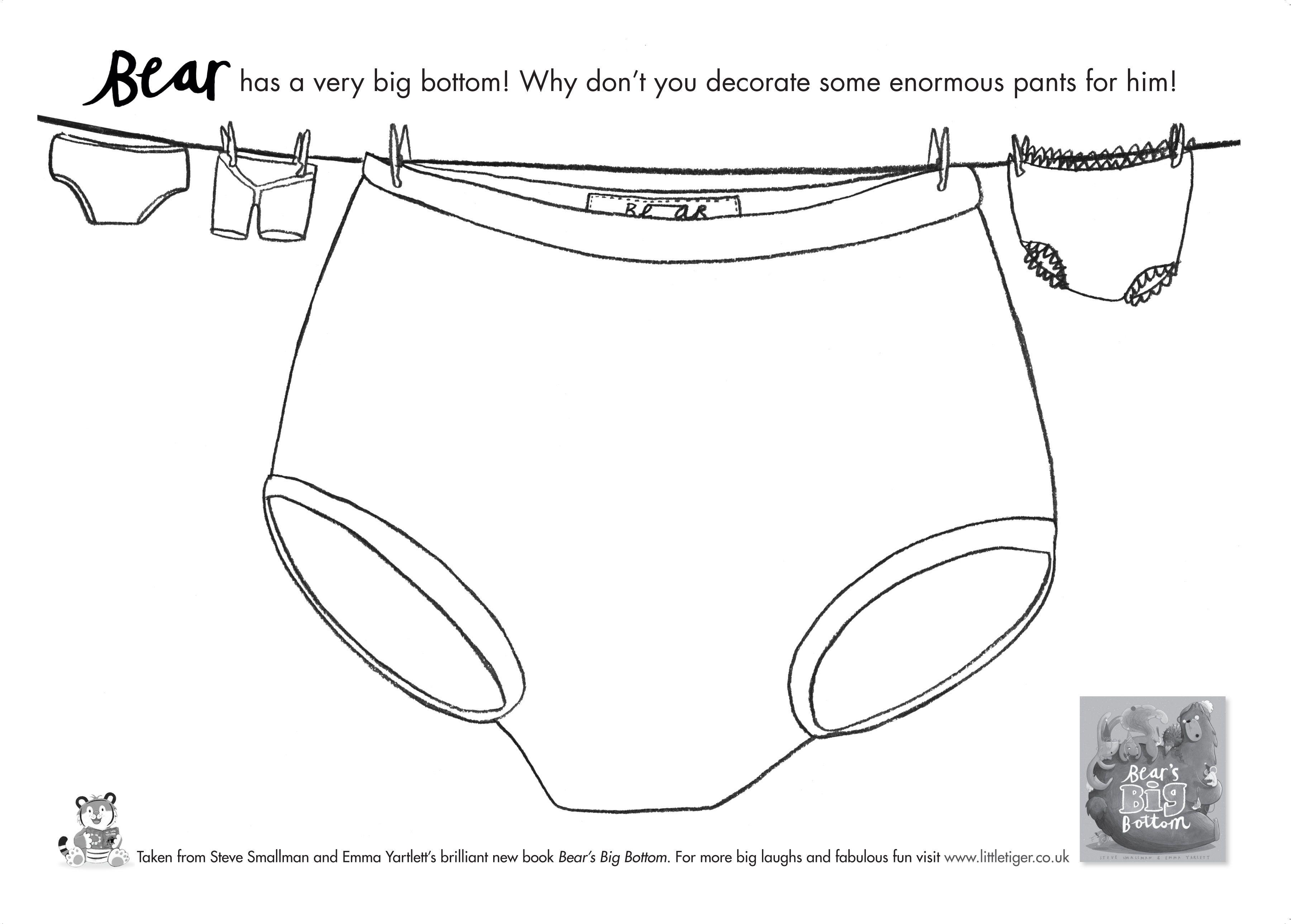 Bear S Big Bottom Design Your Own Bear Pants