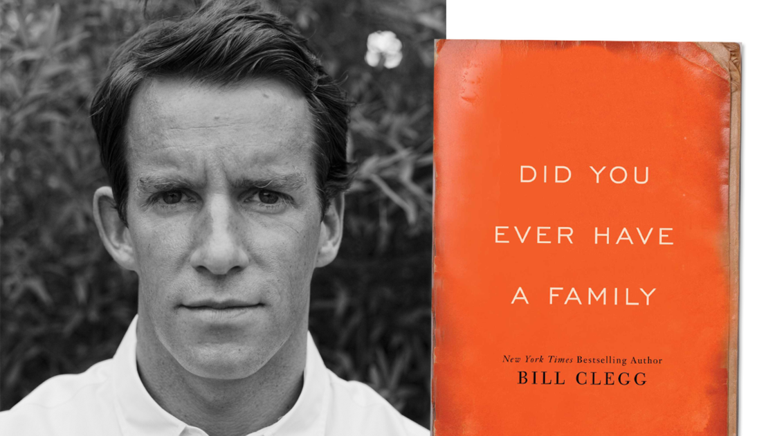 Bill Clegg's new novel, *Did You Ever Have a Family*, was long-listed for the…