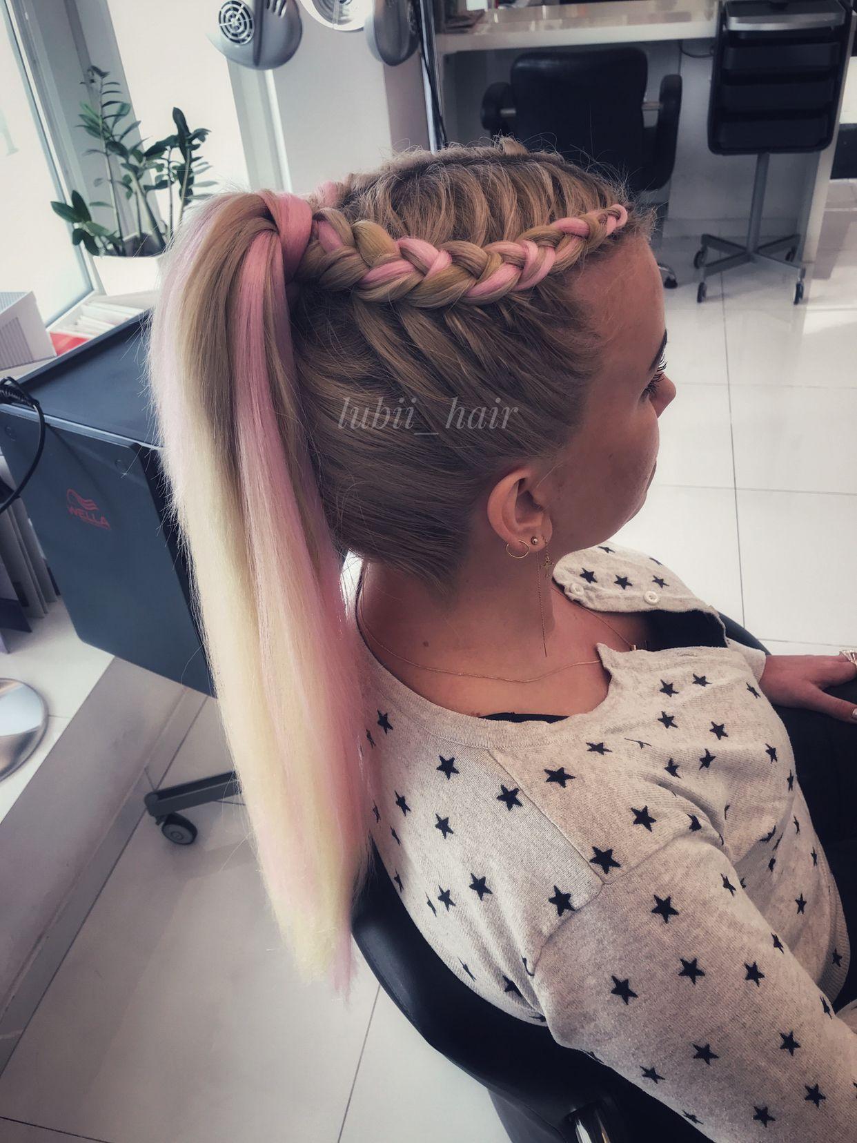 Warkocz Wlosy Syntetyczne Rave Hair Sports Hairstyles Hair Styles