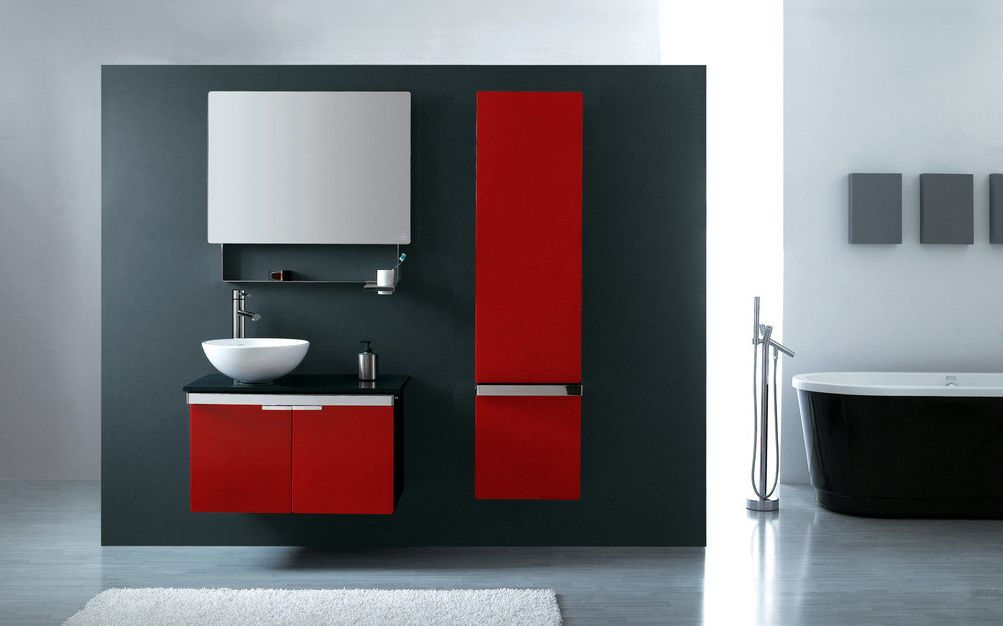 meuble salle de bain 80 cm et colonne