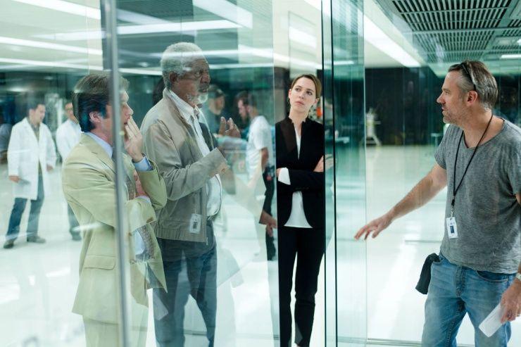 Transcendence (2014) : Morgan Freeman, Rebecca Hall, Cillian Murphy, Wally Pfister