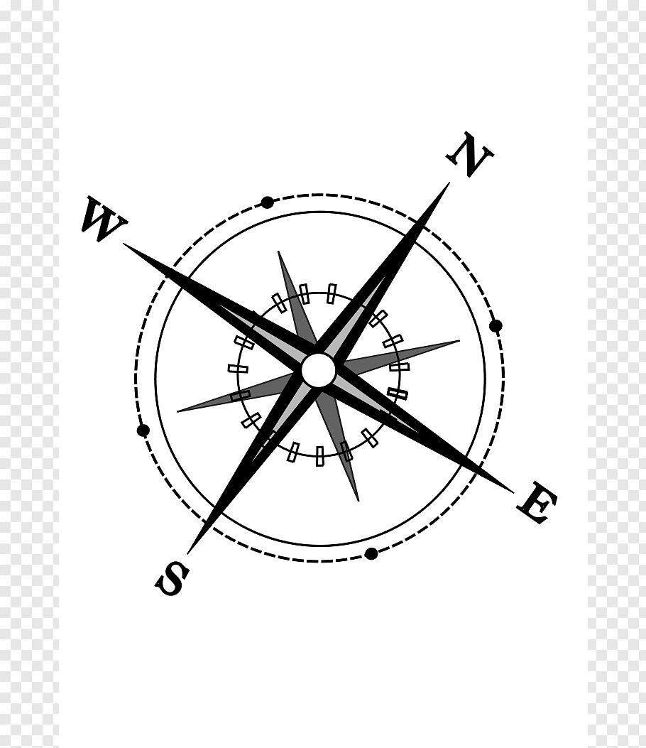 North Compass German Cardinal Direction Free Compass Png North Compass Compass Symbol Map Tattoos
