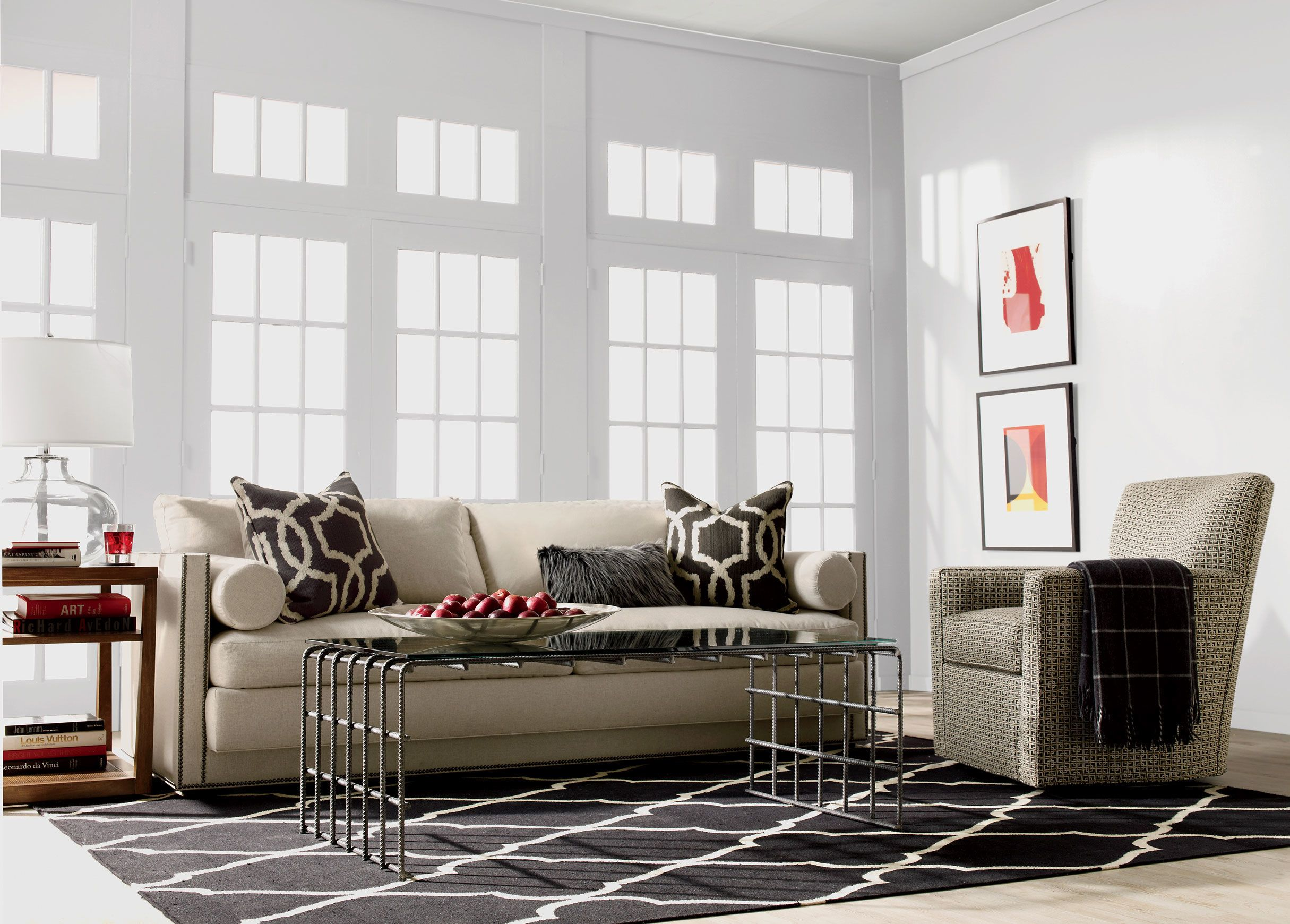 Gentil Shop Sofas And Loveseats | Leather Couch | Ethan Allen