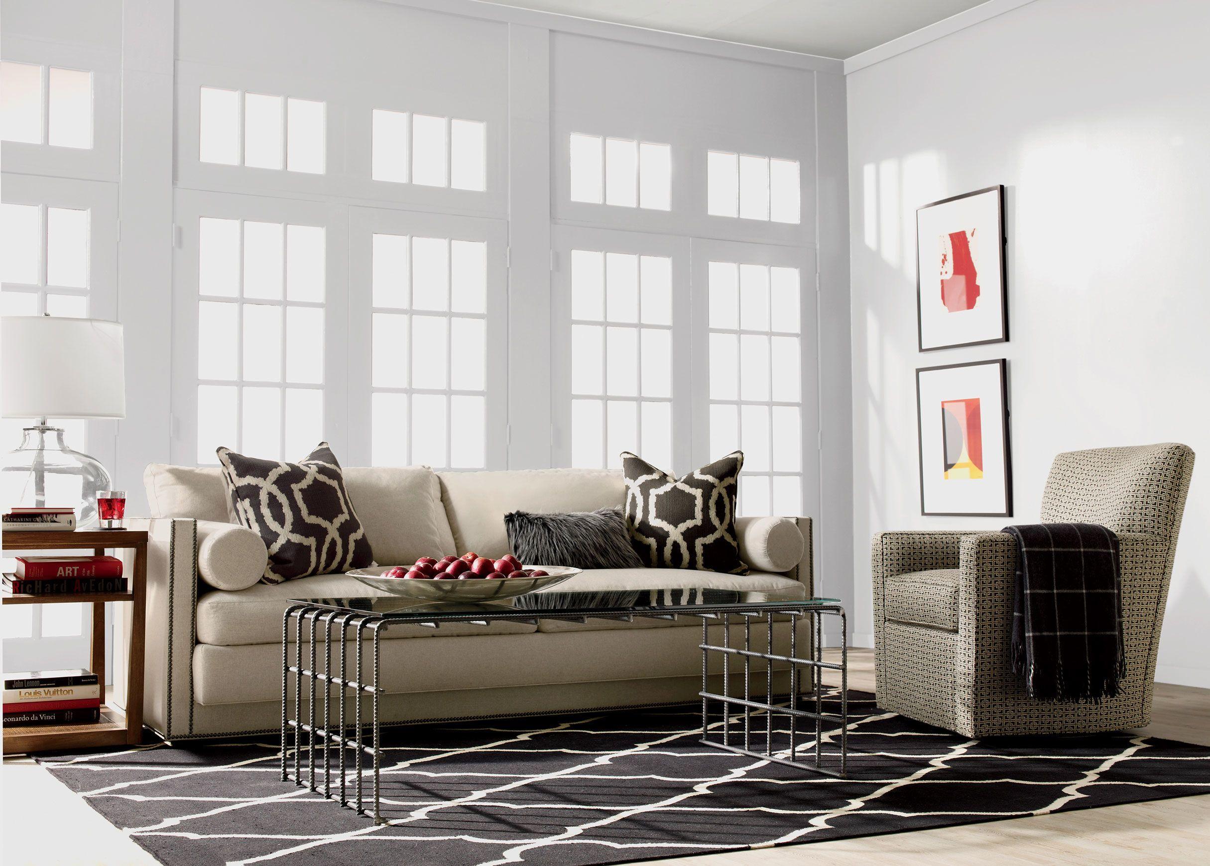Ethan allen window treatments - Abington Sofa Reede Linen Custom Fabric Available Ethan Allen 3000