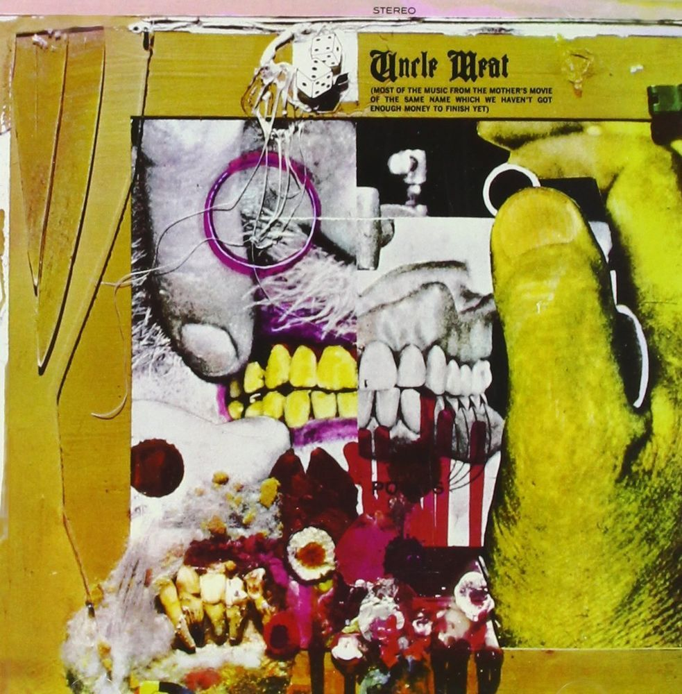 Frank Zappa And The Mothers Of Invention Uncle Meat 180g