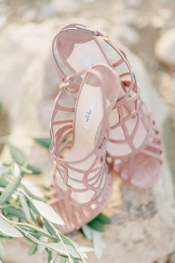 Hochzeitsschuhe In Pastell Rosa Von Prada Best Blush High End