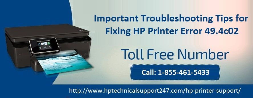 When you face HP Printer Error 49.4c02, you can get the best support