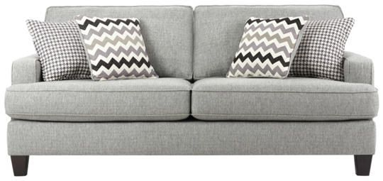 Brighton Sofa Features A Unique Pairing Of A Chevron Patterns And A  Houndstooth Pattern Of Light Grey And Shades Of Lavender. Great Accents For  A Light Grey ...