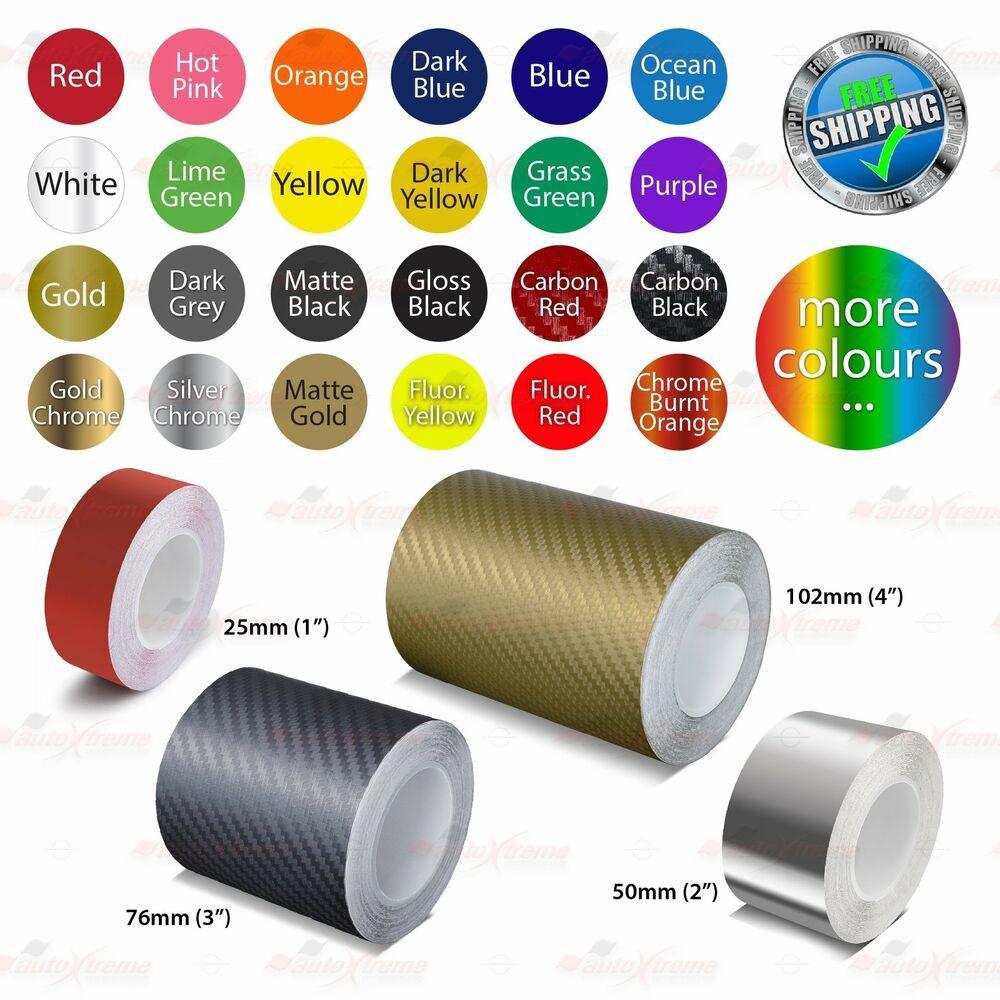 BURNT-ORANGE CHROME Roll PIN STRIPE PinStriping Line TAPE Decal Vinyl Stickers