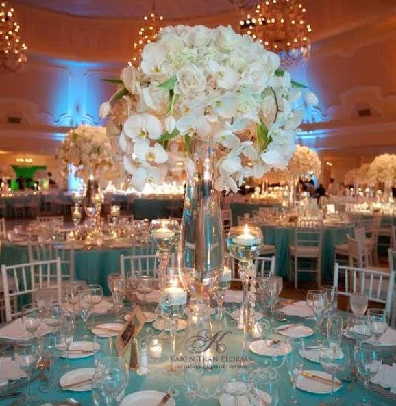 Turquoise And Fuschia Wedding Theme Turquoise Wedding Reception