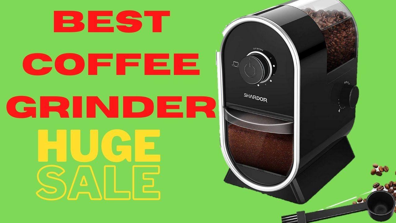 Coffee Grinders SHARDOR Electric Burr Coffee Grinder
