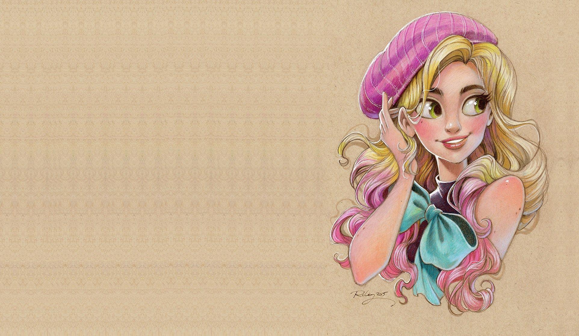 Картинки мультяшные красивые девочки