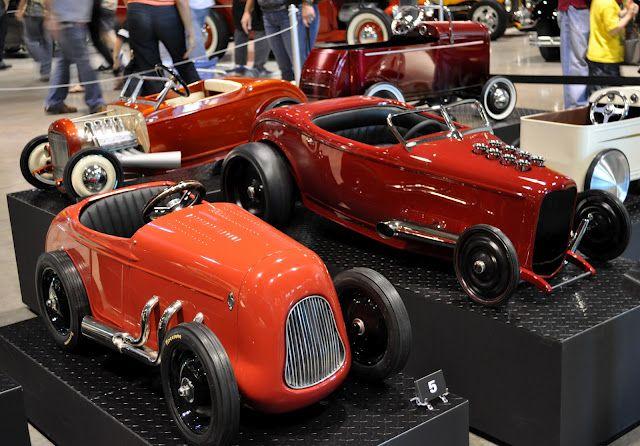 Cute little custom pedal cars...