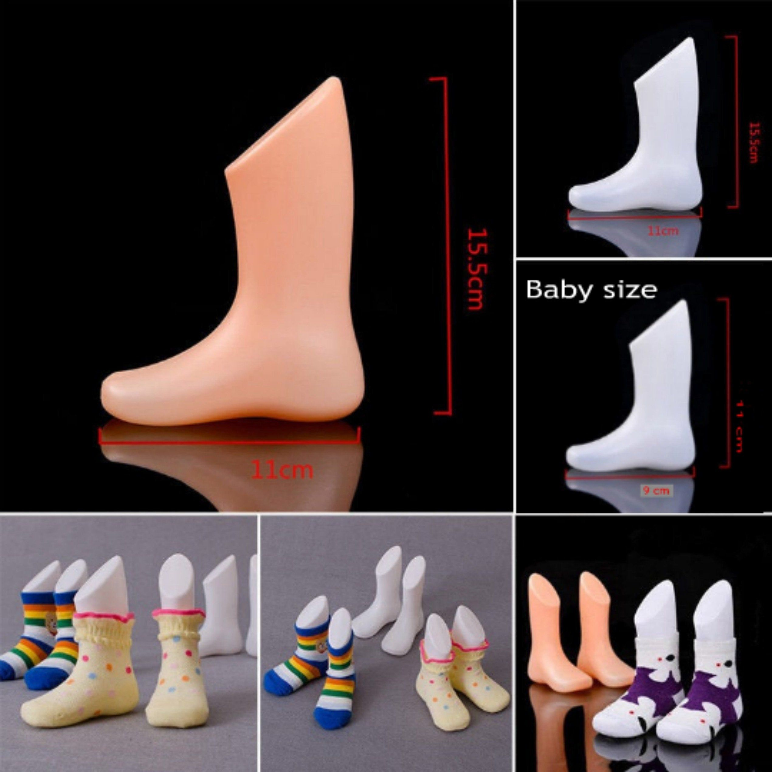Mannequin!Mannequin for knitting  socks!Pair of Display Mannequin Feet Sock Shoes Photography Ideal For Displays