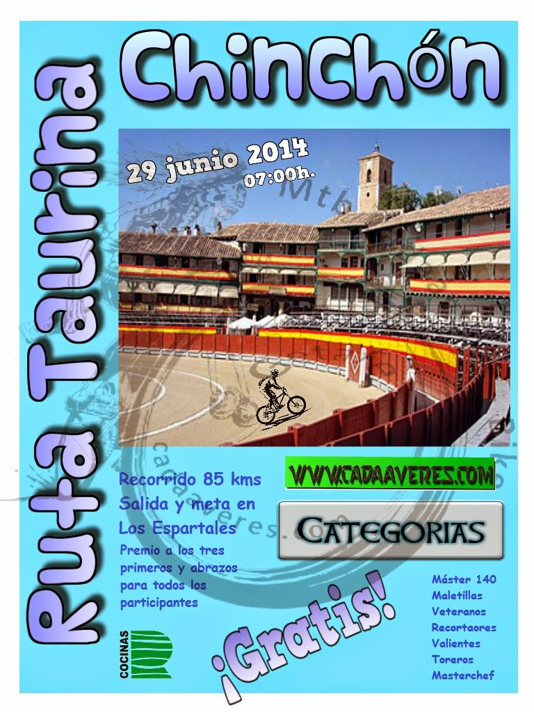 Mtb Cadaáveres - Bike : I Ruta Taurina a Chinchón.