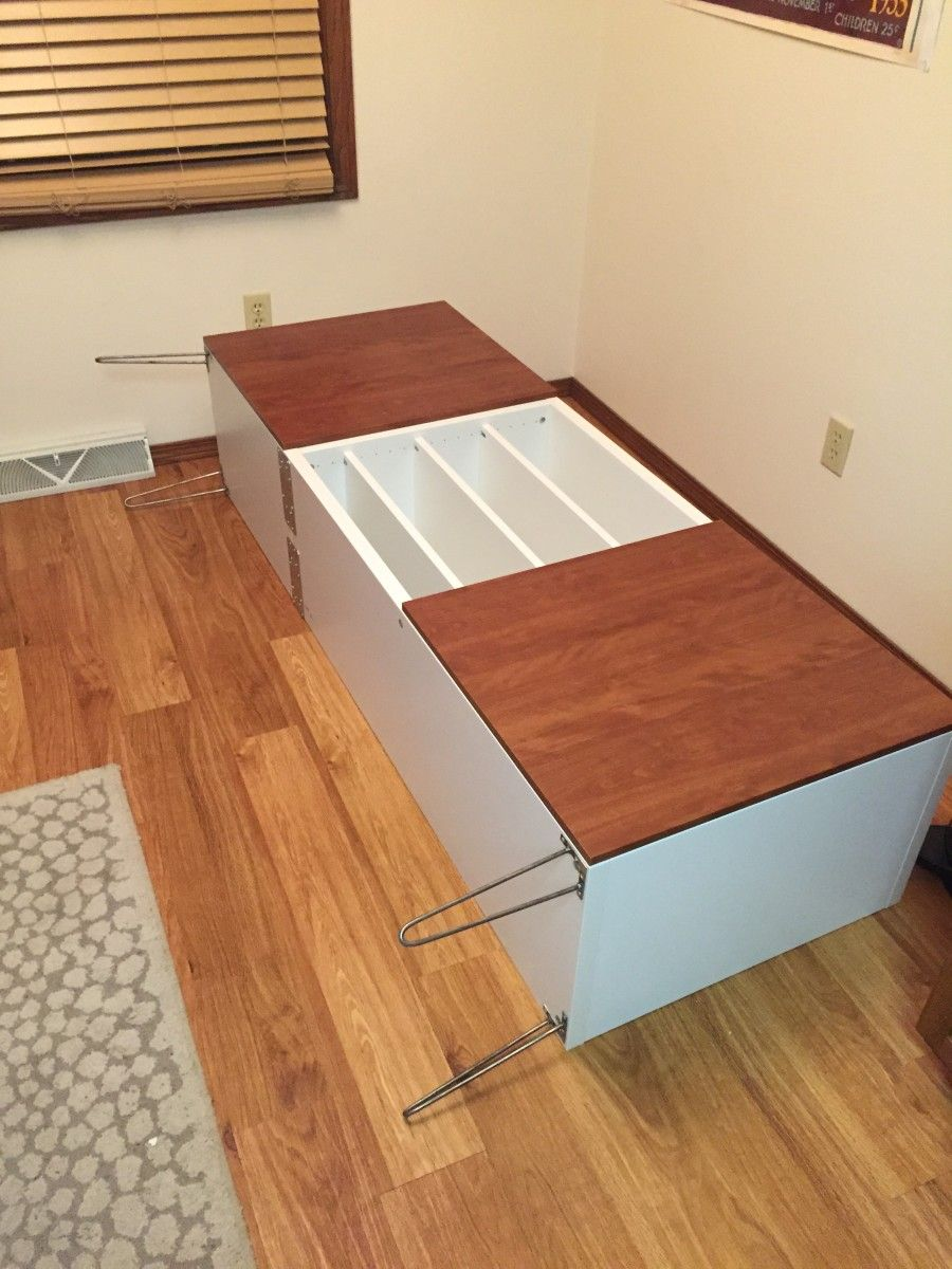 This Is A Custom Buffet I Made For The Entryway In My Home Using  # Enfilade Ikea