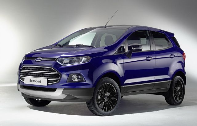 2016 Ford Ecosport Usa The Brand New Face Lifted Version