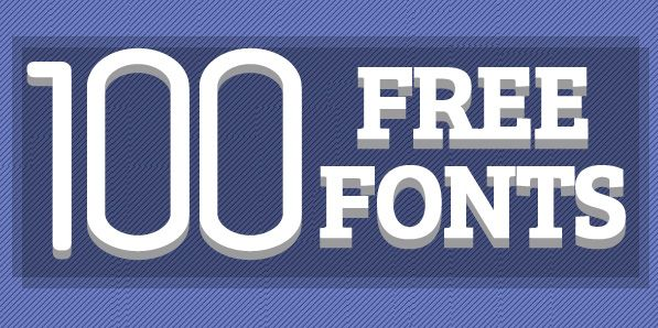 100 Professional Free Fonts For Designers #freefonts #fontsfordesigners