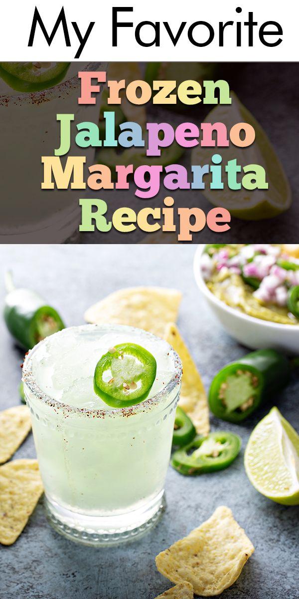 My Favorite Frozen Jalapeno Margarita Recipe #frozenmargaritarecipes