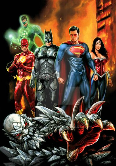 justice league vs doomsday