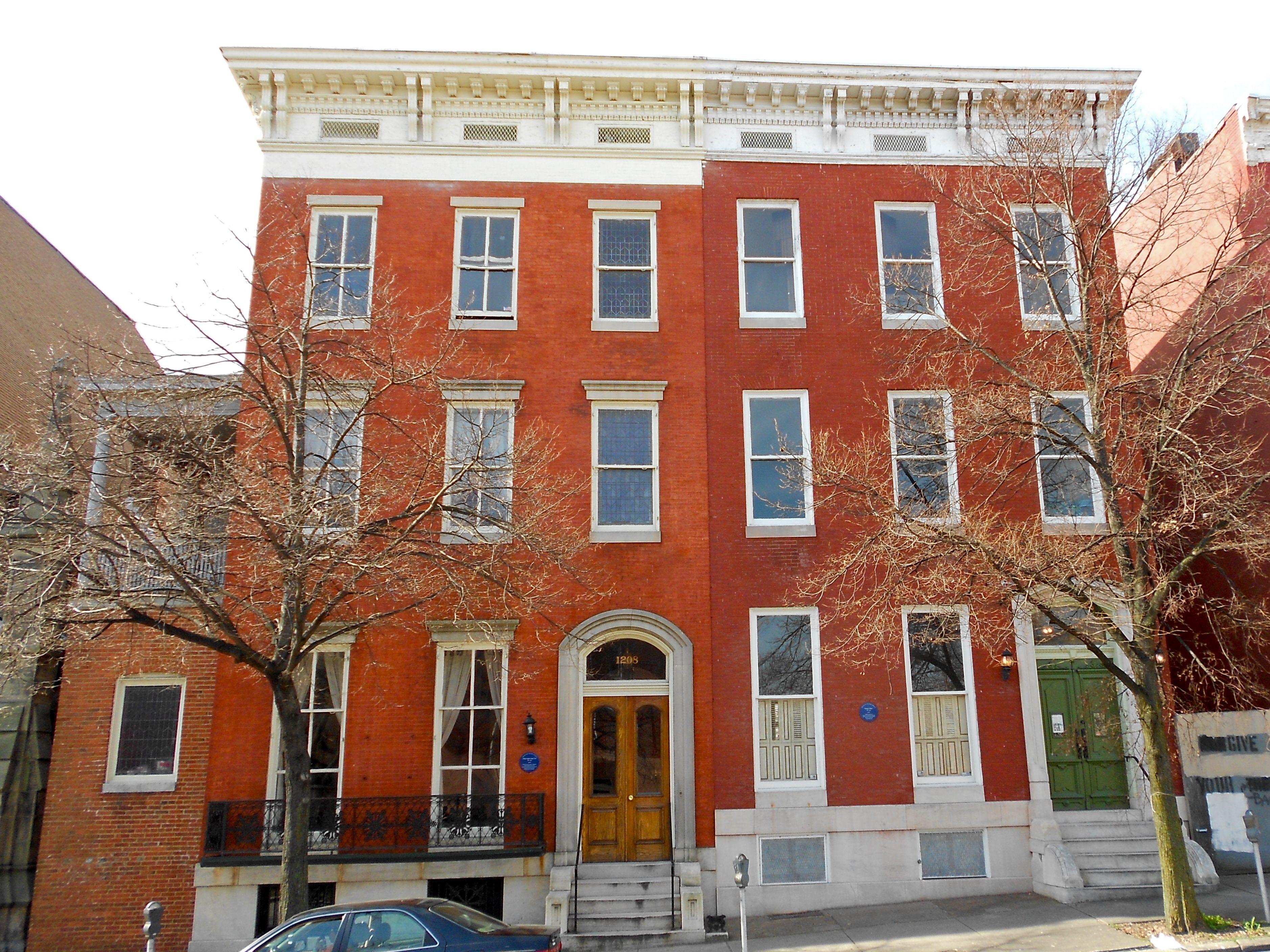 Mt Vernon Rowhouses Baltimore Baltimore Apartment City House Row House