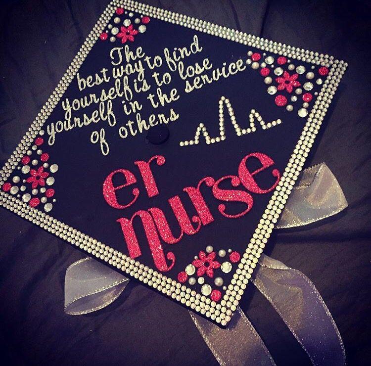 Nurse grad cap idea | Nursing graduation, Nursing ...
