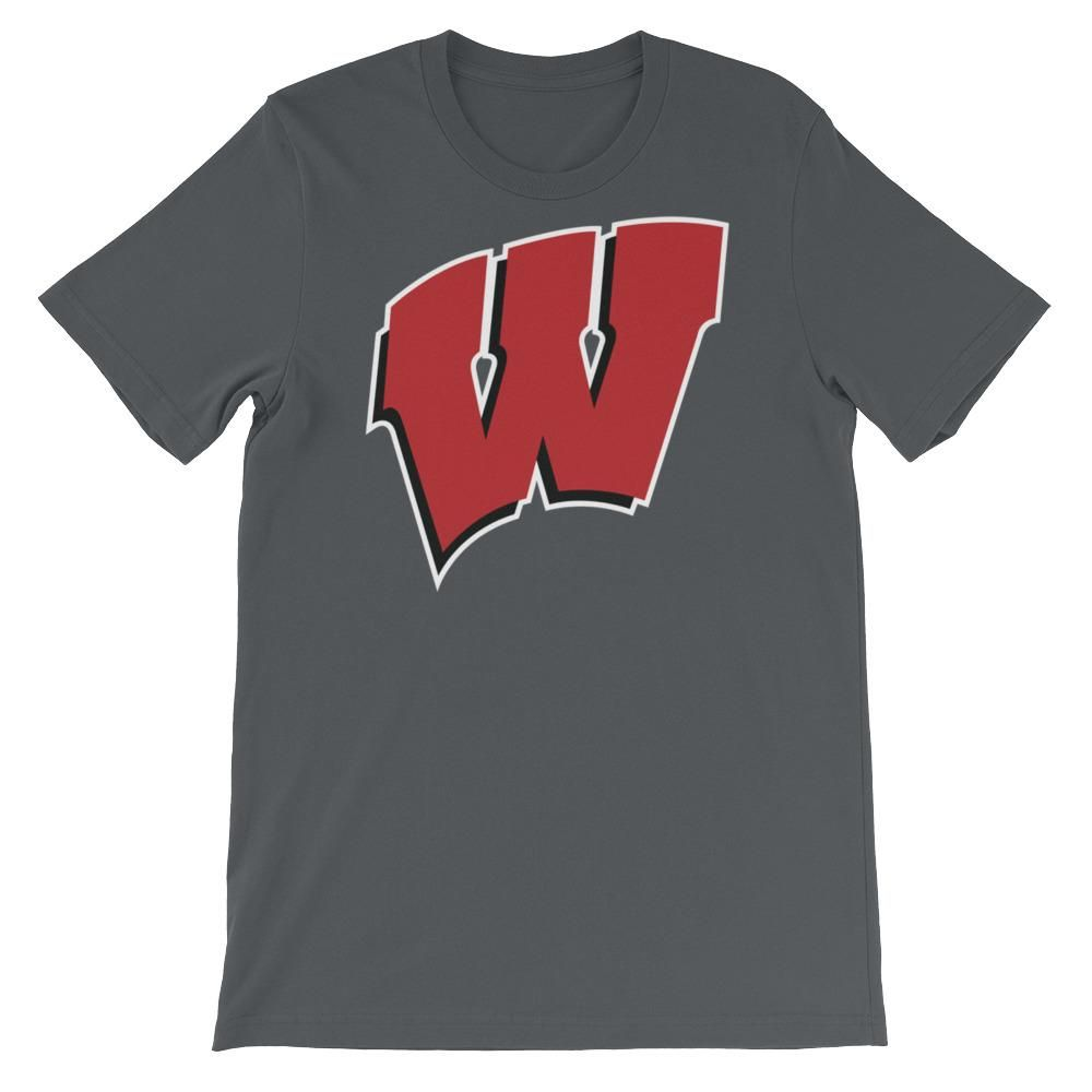 Wisconsin Badgers Football Short-Sleeve Unisex T-Shirt