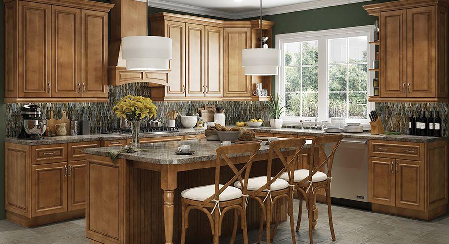 Home Decorators Online Cabinetry   Dartmouth Cinnamon
