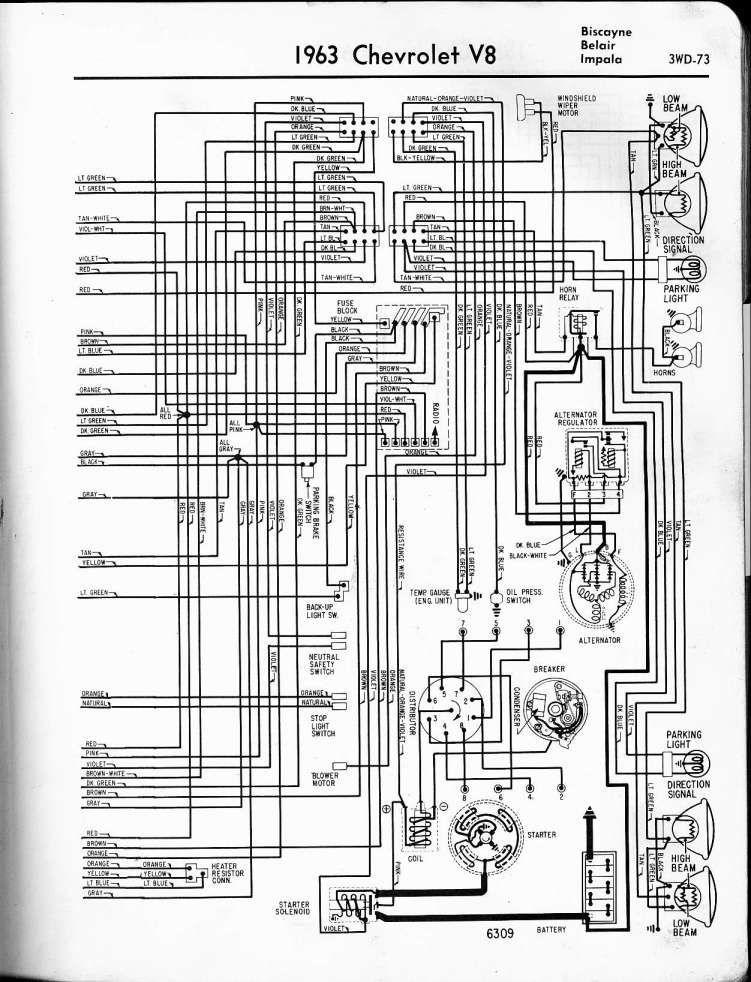 1963 chevy impala wiring diagram  schematic wiring diagram