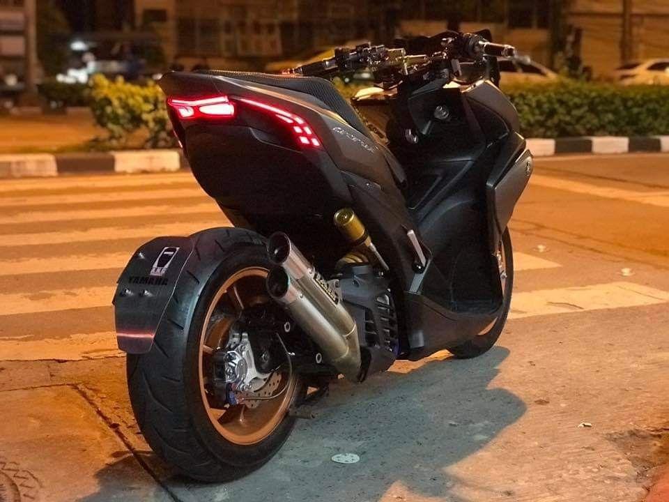 Yamaha Aerox Thailand Kendaraan Mobil Motor Jalanan