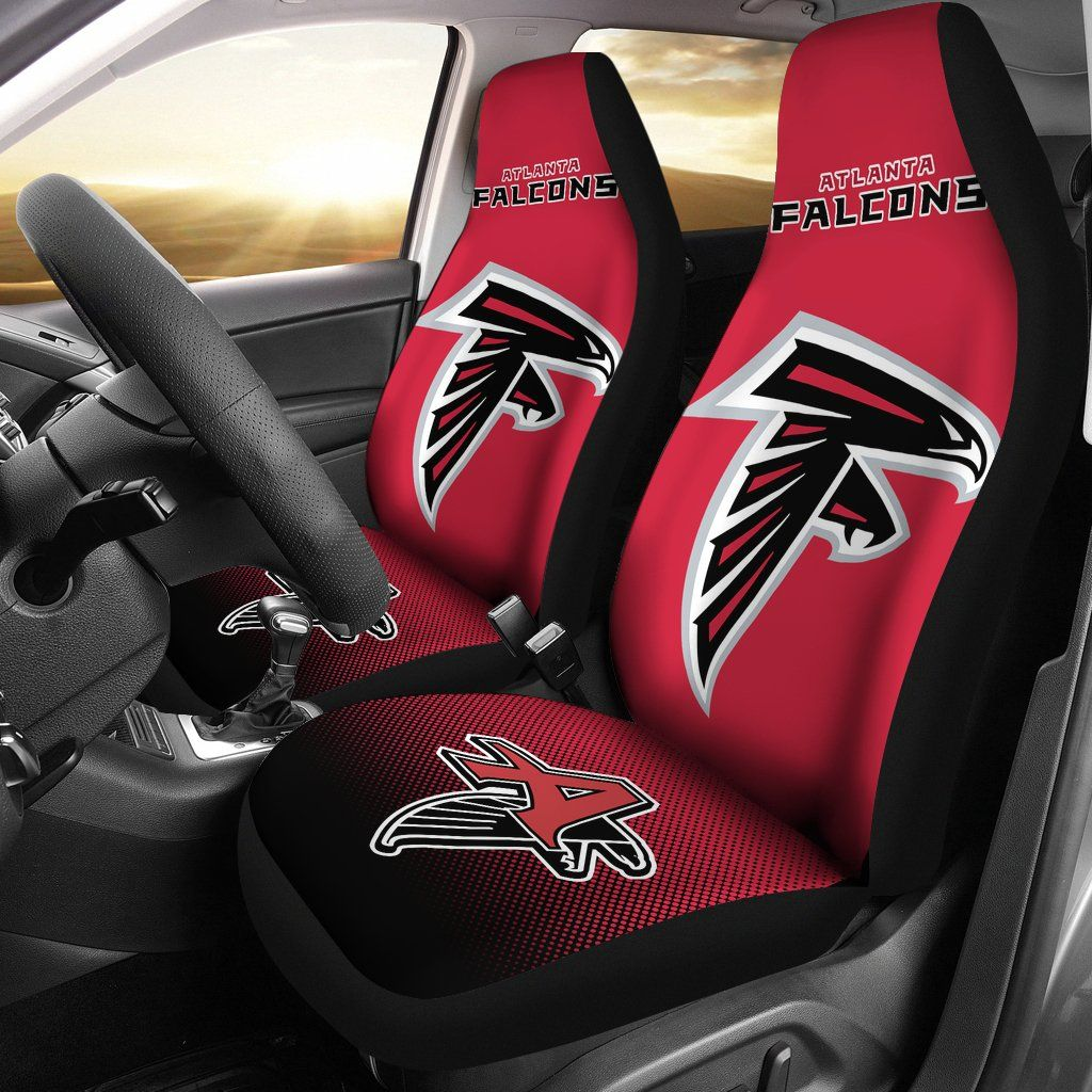 New Fashion Fantastic Atlanta Falcons Car Seat Covers Best Funny Store Atlanta Falcons Atlanta Falcons Women Carseat Cover