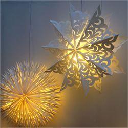 Paper star lamp shade star lanterns pinterest star lamp paper paper star lamp shade aloadofball Gallery