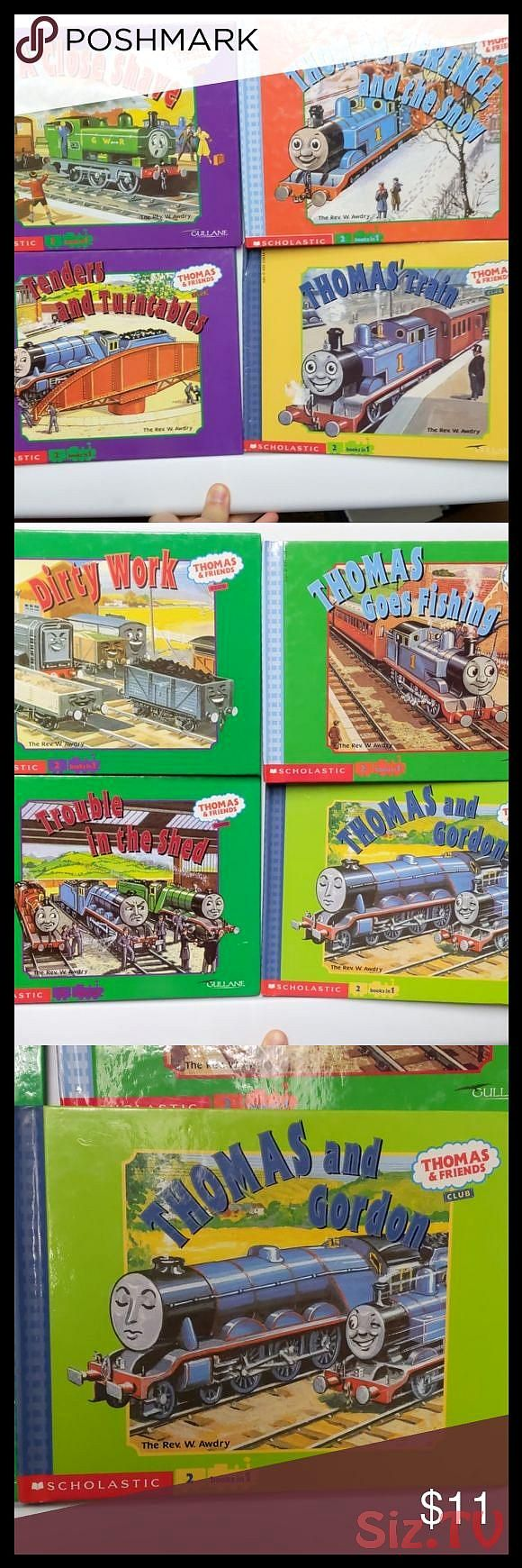 Thomas 038 Friends lot of 4 books Thomas the train books Lot of four books with each book containing two stories for a total of 8 stories in the lot TThomas 038 Friends l...