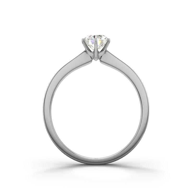 ring med diamant