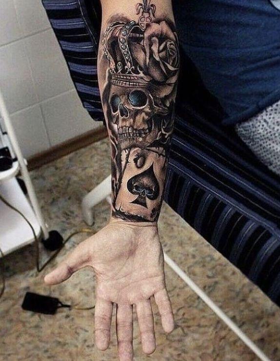 Rucken Nacken Hombres Tatuajes Tatuajes Impresionantes Tatuaje