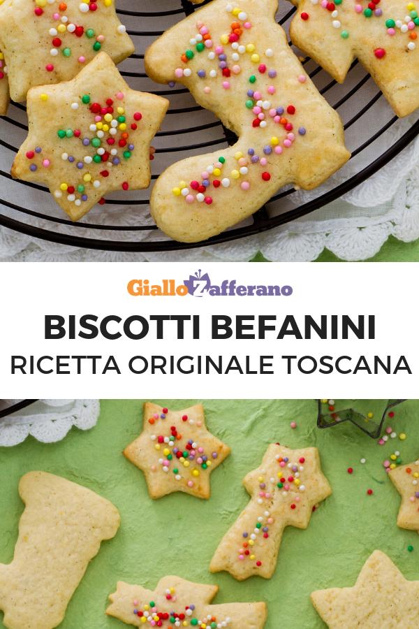 Biscotti Di Natale Ricette Giallo Zafferano.Befanini