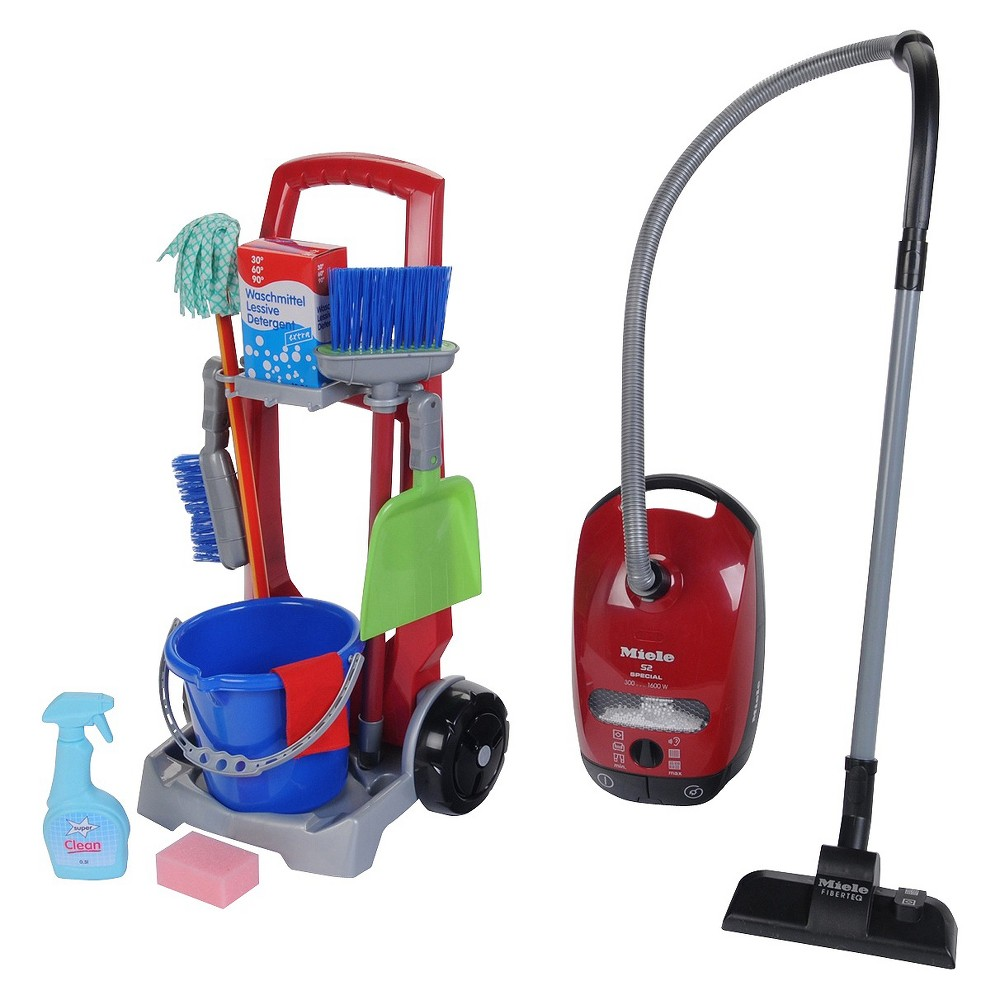 Theo Klein Cleaning Trolley Miele Vacuum Combo Cleaning Toys Miele Vacuum Vacuums