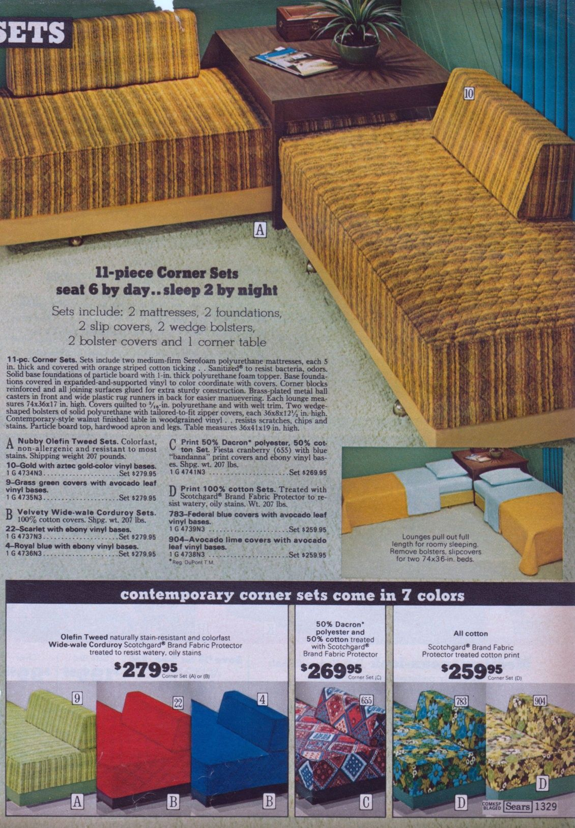 Sears Catalog 70s Furniture And Decor The 70s 70s