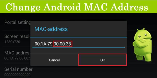 How To Change WiFi MAC Address On Android Mac address