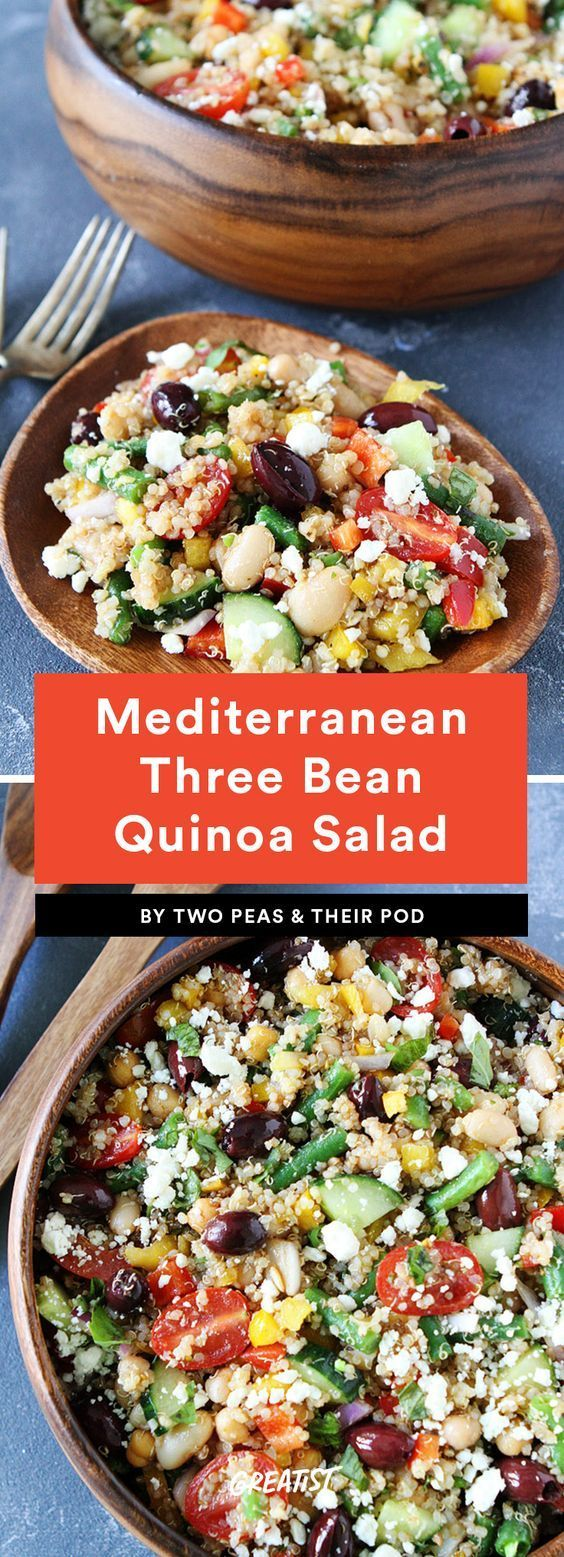 9 Protein-Packed Salads That Won't Leave You Hungry - -
