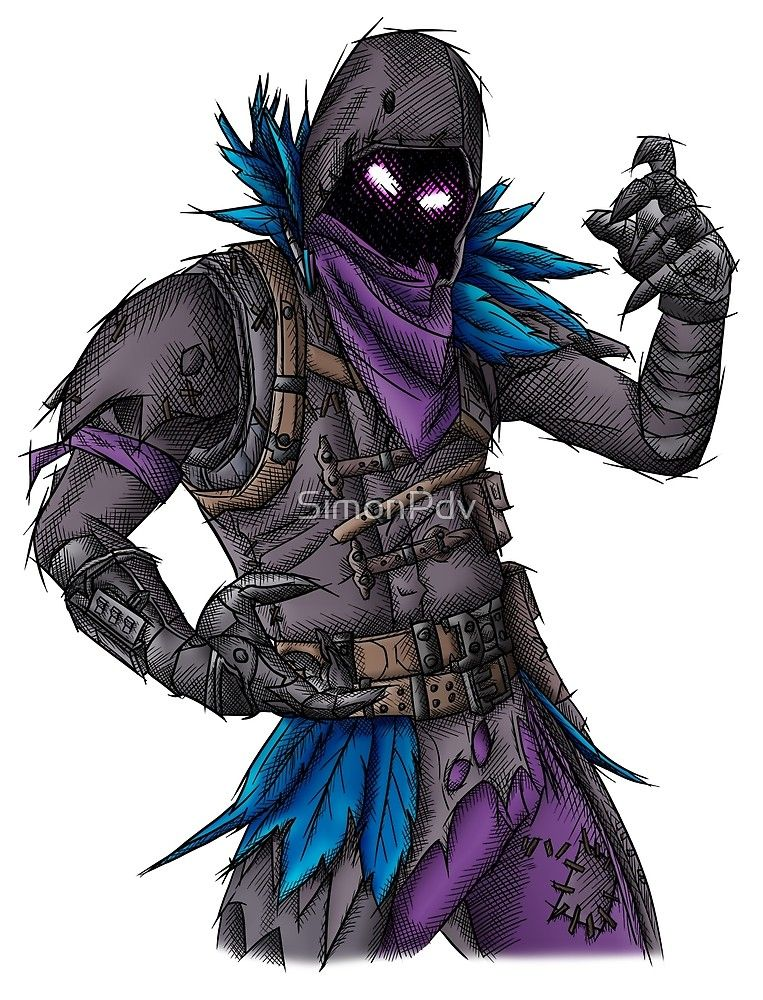 Raven Peau De Fortnite Par Simonpdv Fortnite In 2019 Cuervo