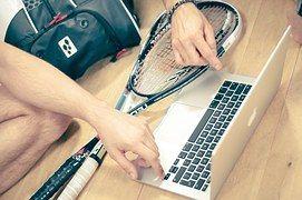 Abóbora, Esporte, Homem, Jogo, Raquete