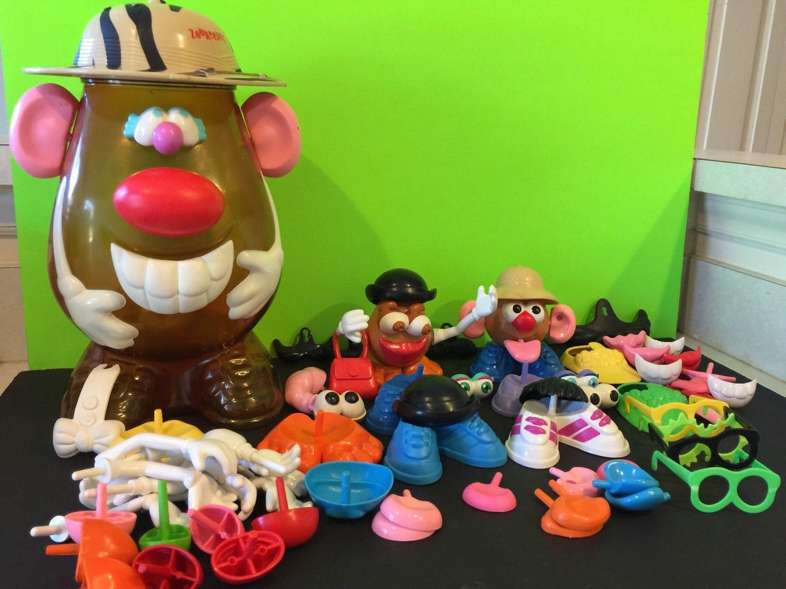 Mr Potato Head Zookeeper Playset Over 85 Pieces   eBay