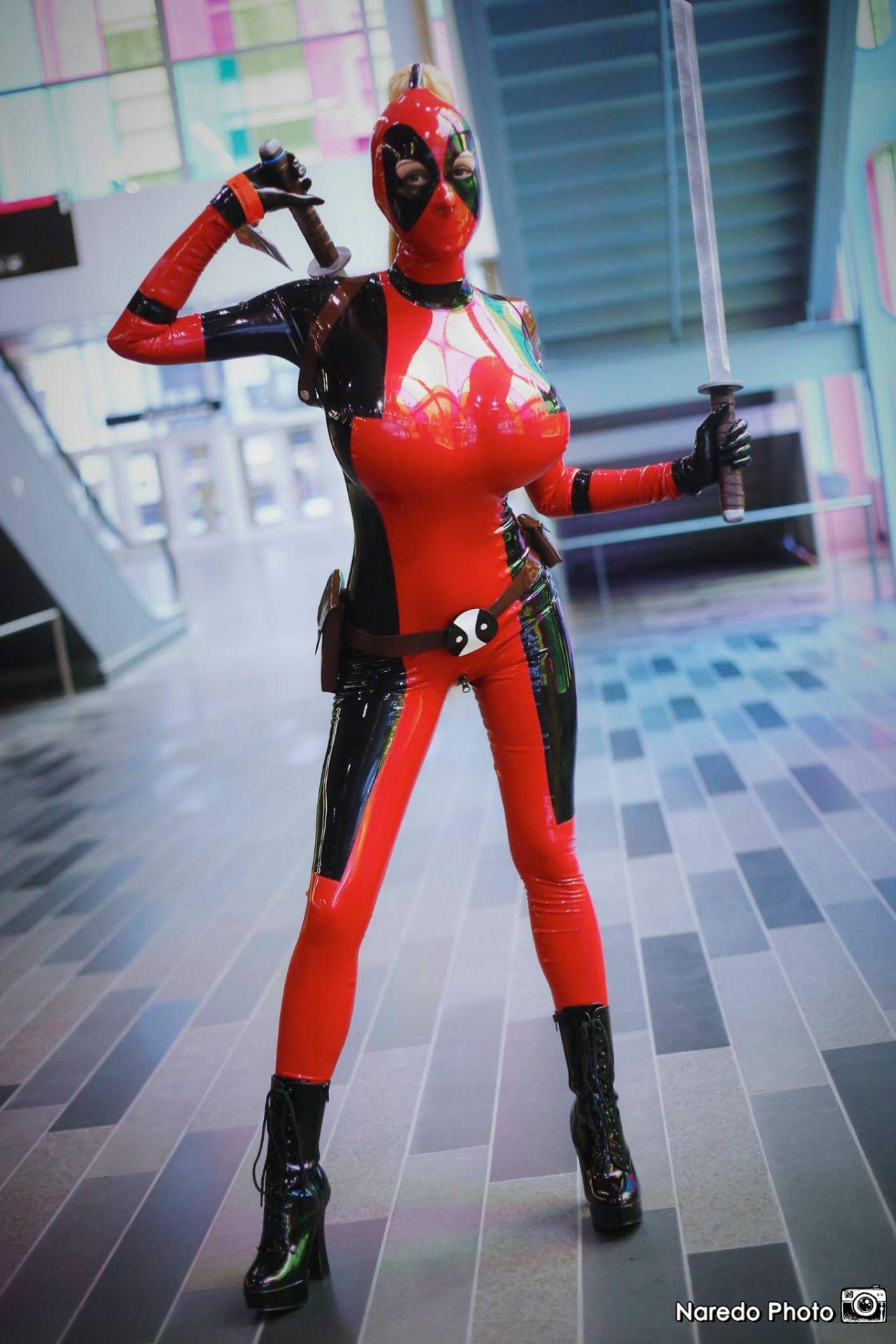 ariane saint amour cosplay deadpool (Ariane St. Amour)