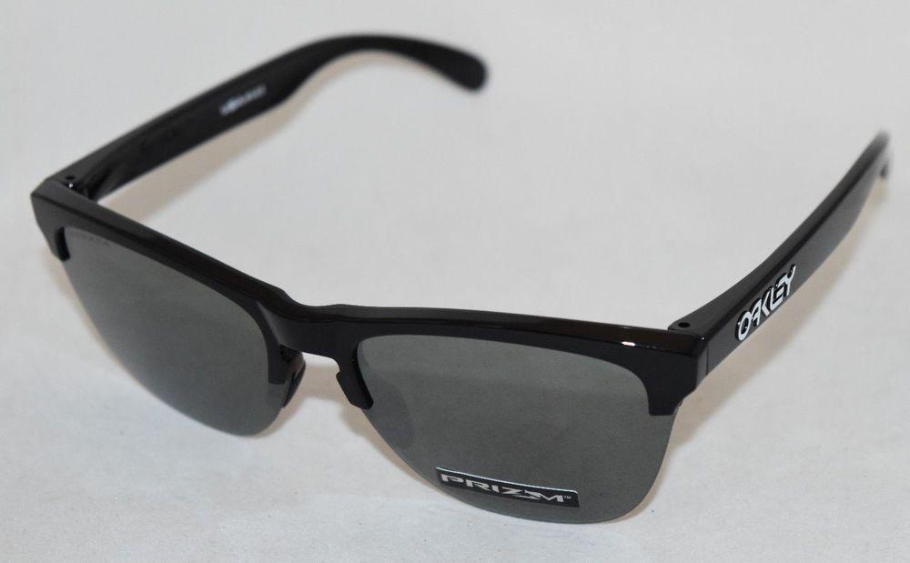 09dd48e883 NEW OAKLEY FROGSKINS LITE OO9374-1063 POLISHED BLACK W/ PRIZM BLACK LENS  (eBay Link)