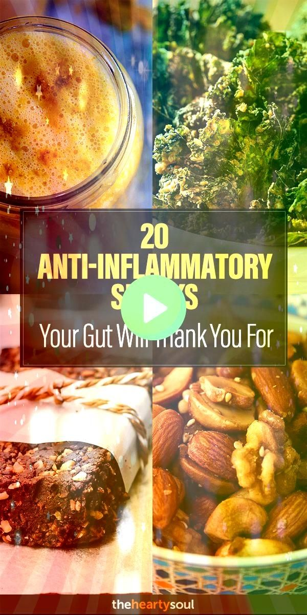 AntiInflammatory Snacks Your Gut Will Thank You For  The Hearty Soul20 AntiInflammatory Snacks Your Gut Will Thank You For  The Hearty Soul 11 best foods to eat on the an...